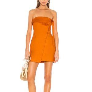 Camila Coelho Ila Strapless Mini Dress